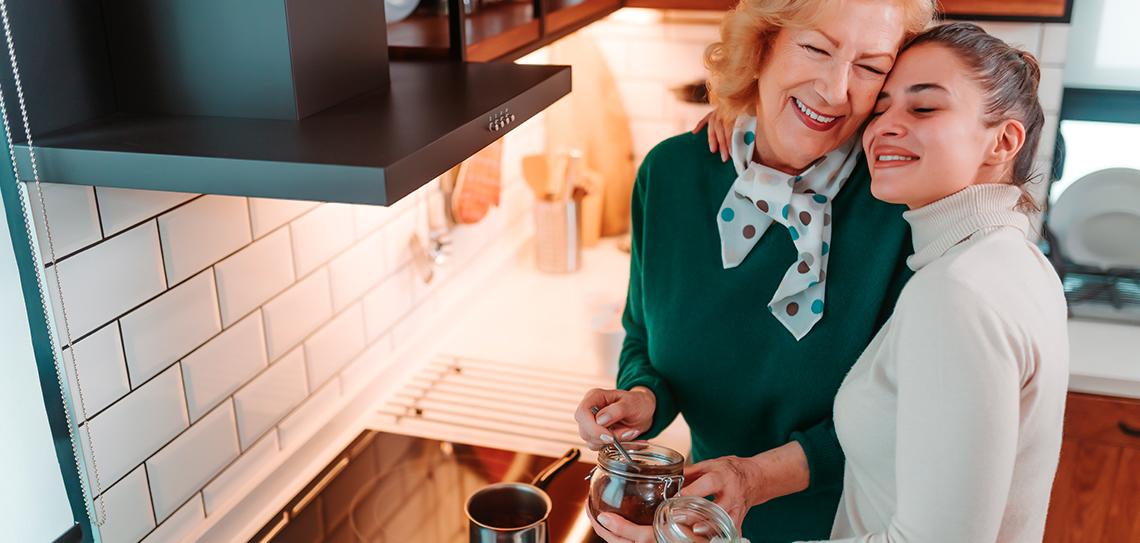 ¡El café que prepara mamá es único!
