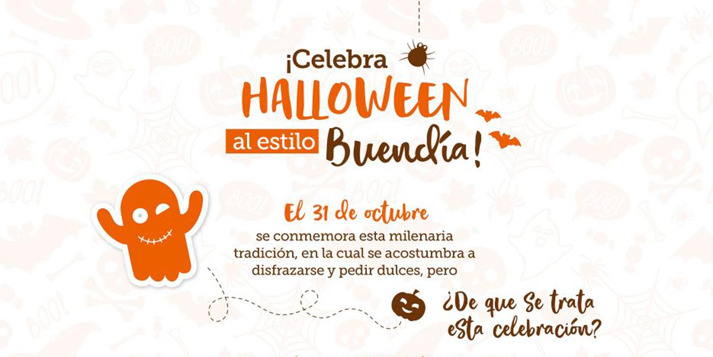 Celebra Halloween al estilo Buendía